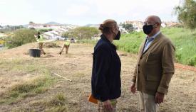 Jardines acomete mejoras en varios puntos de San García