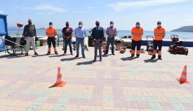 Algeciras contará con nuevos vehículos y maquinaria para playas
