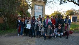 Nuevo paseo literario en Guadarranque, con Rosalinda Fox como eje