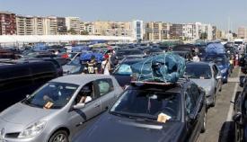 El Llano Amarillo pierde plazas de aparcamiento por el dispositivo de la OPE