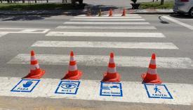 Adelante pretende adaptar los pasos de peatones para niños con TEA
