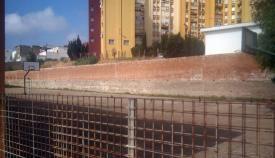 Sedeño Muñoz, con licencia para reparar el muro del 'Campo de Gibraltar'