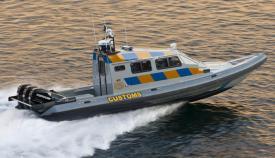 La patrullera de Aduanas de Gibraltar HMC Searcher