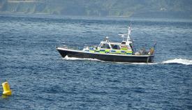 Patrullero de la Policía de Gibraltar. Foto NG