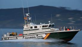 El Servicio Marítimo de la Guardia Civil intervino también en el rescate