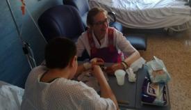 Menores hospitalizados en Algeciras participan en talleres lúdico-pedagógicos
