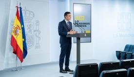Pedro Sánchez, presidente del Gobierno. Foto: NG