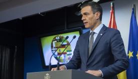 El presidente del Gobierno, Pedro Sánchez. Foto: Borja Puig de la Bellacasa