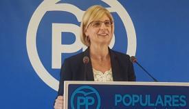 María José García-Pelayo, diputada nacional del PP. Foto: NG