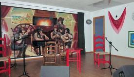 Interior de la Peña Flamenca Sanroqueña