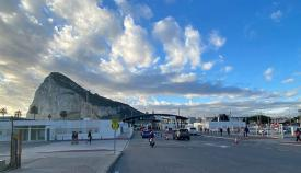 Verja y Peñón de Gibraltar. Foto Sergio Rodríguez