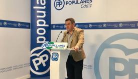 El portavoz del PP en Diputación, José Loaiza, en imagen de archivo