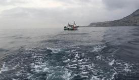 Pesquero español cerca de Gibraltar