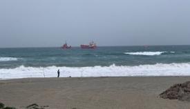 El Orix Trader fue rescatado por Salvamento Marítimo