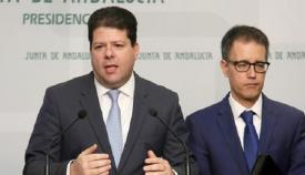 Fabian Picardo y Joseph García, en una foto de archivo