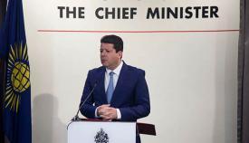 El ministro principal, Fabian Picardo