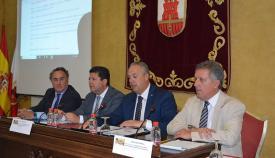 Fabian Picardo, en el Curso de Verano de la UCA, junto al alcalde de San Roque. Foto: Ayuntamiento de San Roque