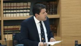 Picardo en el Parlamento. Foto NG