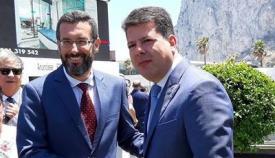 Juan Franco con Picardo. Foto NG