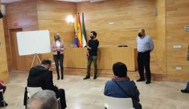 Pilar Pintor dio la bienvenida a los participantes en el comienzo de las actividades