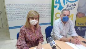 Pilar Pintor y Jacinto Muñoz, en imagen de archivo