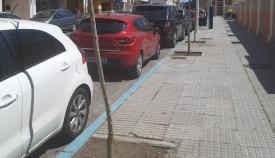 Los trabajos han comenzado en la Avenida de España. Foto: lalínea.es