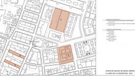 Uno de los planos de actuación de la barriada. Foto: lalínea.es