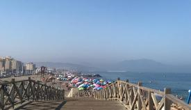 Las playas de La Línea, en perfectas condiciones