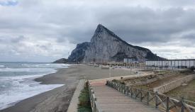 Una imagen reciente de la Playa de 'Santa Bárbara', en La Línea. Foto: NG
