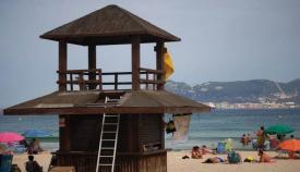 Playa en Algeciras