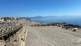 Imagen de una de las playas de La Línea