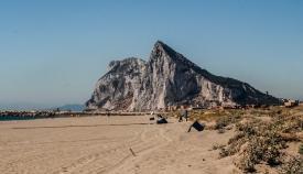 Una imagen de la playa de Levante, en La Línea. Foto: NG