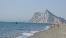 Una playa del litoral de levante, en La Línea. Foto: NG