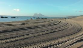 Una playa del término municipal de San Roque. Foto: sanroque.es
