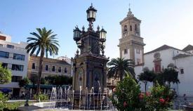 La Plaza Alta de Algeciras se iluminará de azul por el Día de la Enfermería