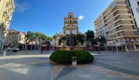 La Plaza de la Iglesia de La Línea. Foto: Sergio Rodríguez