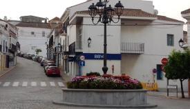 La plaza de Andalucía de San Roque.