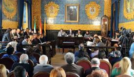 Salon de Plenos del Ayuntamiento de Algeciras