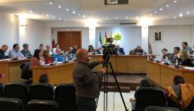 Pleno municipal del ayuntamiento de Los Barrios ayer