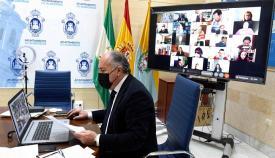 Algeciras celebra el primer pleno del año de forma telemática