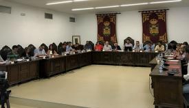 Este martes se ha celebrado el pleno organizativo del Ayuntamiento linense