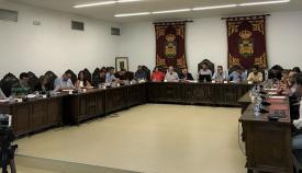 Un pleno de este mandato en La Línea. Foto: NG
