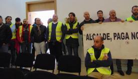 Representantes del SPLL en una de sus movilizaciones