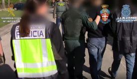 Una imagen reciente de una actuacion policial contra el tráfico de drogas