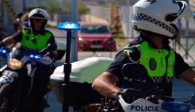 Imagen de archivo de agentes de la Policía Local de Algeciras