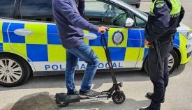 La Policía sancionará a los patinetes y bicicletas por las aceras en Algeciras