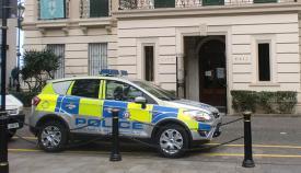 Vehículo de la Policía de Gibraltar