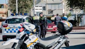 Efectivos de la Policía Local de La Línea en una imagen de archivo