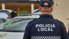 Un agente de la Policía Local de La Línea. Foto: NG