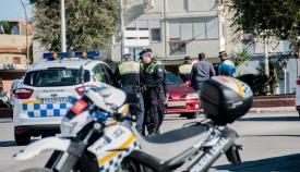 Agentes de la Policía Local de La Línea. Foto: NG